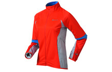 Odlo Women's Mistra Jacket cherry tomato-high rise